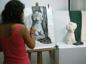 clases preparación prueba específica de acceso a grados y ciclos de diseño, arte, creatividad, dibujo, diseño, clases online