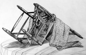 Damian Lopez. Dibujo a lápiz. Arte Casellas