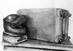 Dibujo de Alberto Ibarra. Arte Casellas