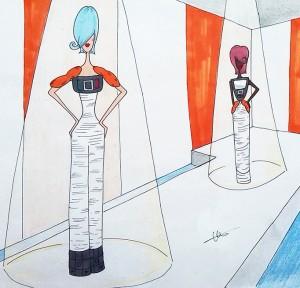 Arte Casellas. Boceto de Cristina Barba 2