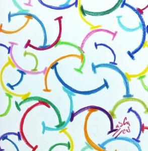 Smile network. Ilustración de Vicky Casellas