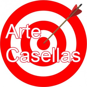 Arte Casellas. Logo diana