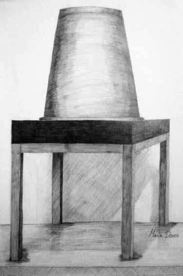 Dibujo de María Dones. Clases de dibujo Arte Casellas