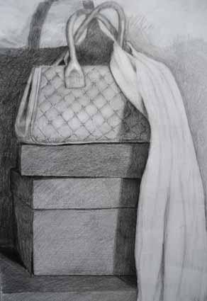 Dibujo a lápiz de Alberto Ibarra