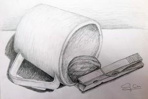 Dibujo de Gabriela Casero