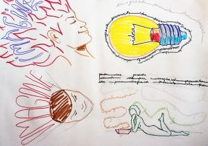 Bocetos de Esther Soler 2. Arte Casellas
