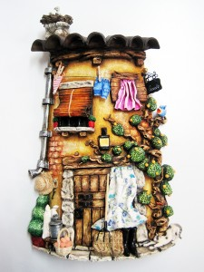 Obra de Viviana Londoño. Arte Casellas