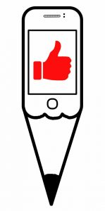 Ilustración de Vicky Casellas. Móvil para dibujar mejor. Arte Casellas. Clases. Peparación. Presencial y online. Estudios Superiores. Grados Superiores. Diseño